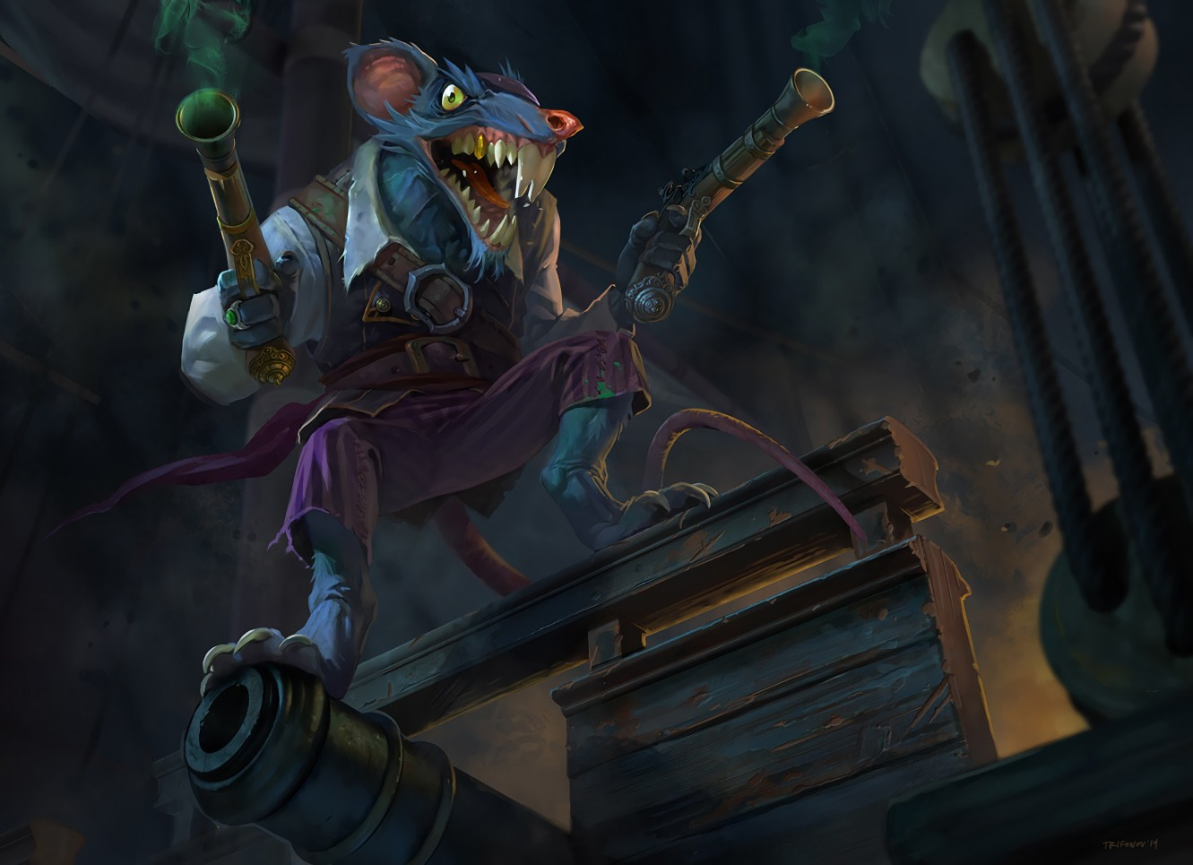 Pirate Twitch Wallpapers Fan Arts League Of Legends