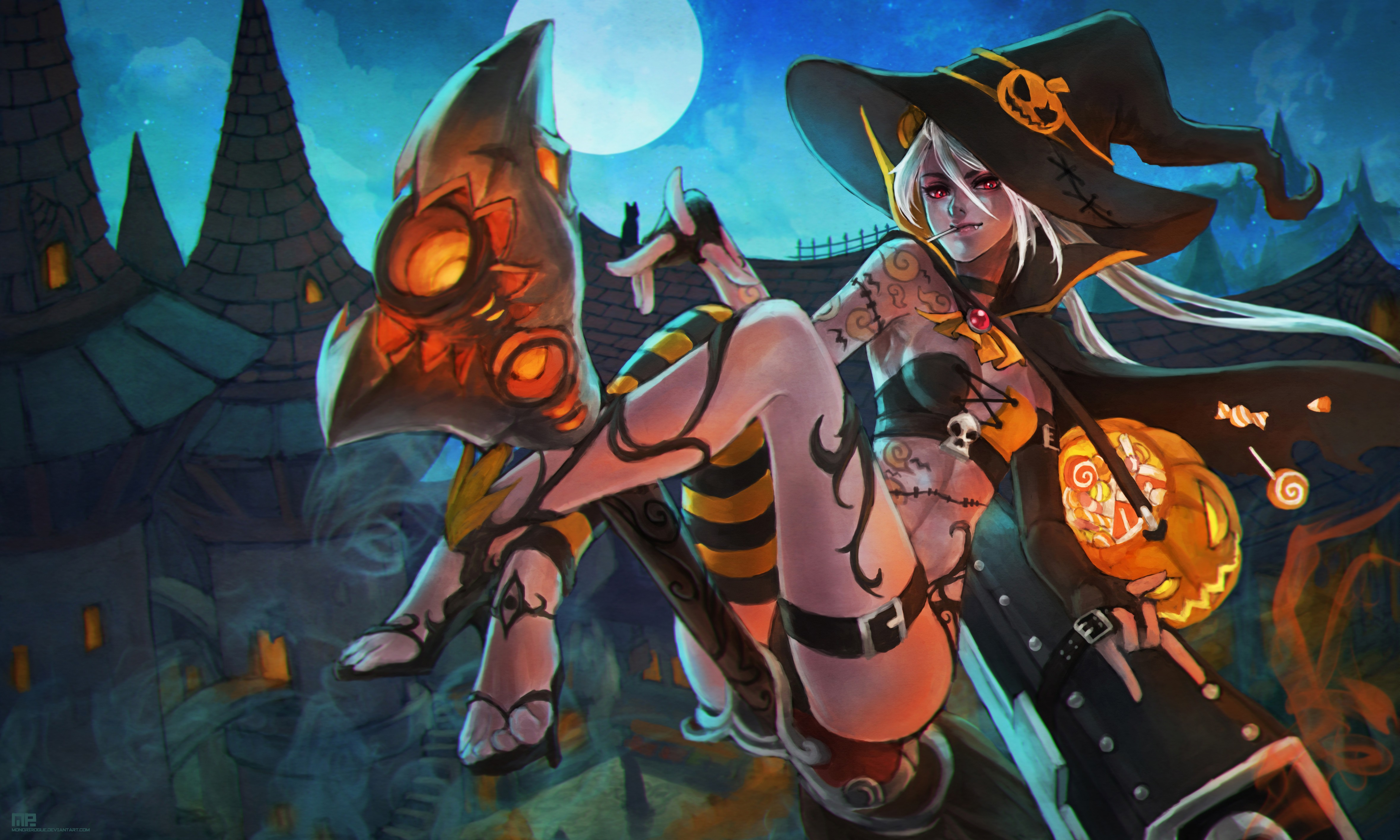 Halloween Jinx Wallpapers Fan Arts League Of Legends