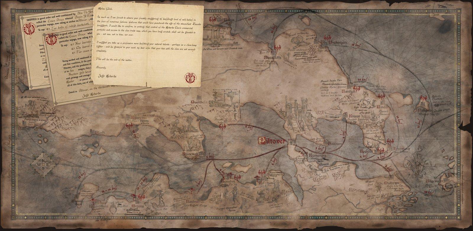 Map of Runeterra   Wallpapers & Fan Arts   League Of Legends ...