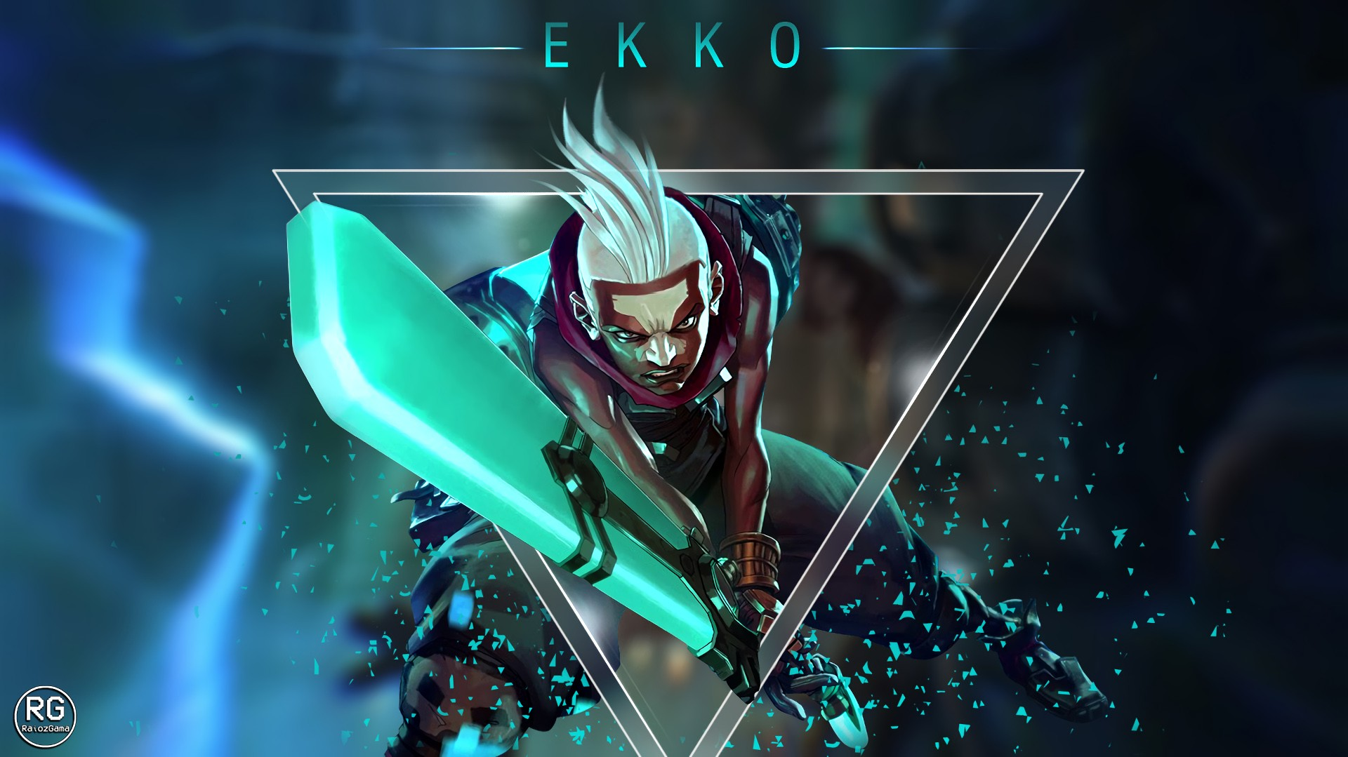 Ekko Wallpapers Fan Arts League Of Legends Lol Stats