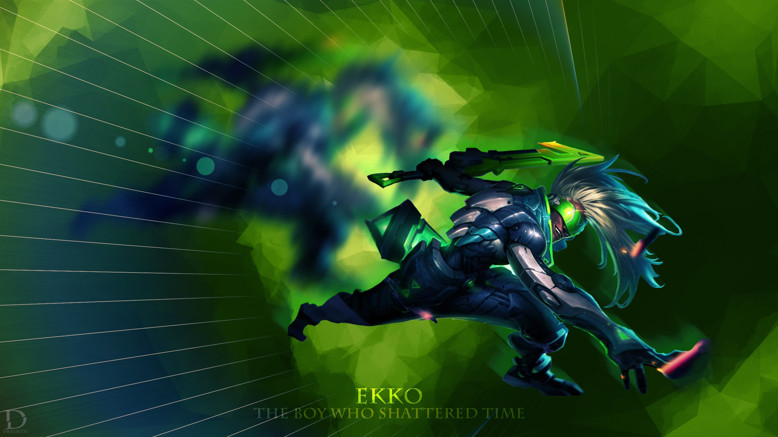Project Ekko Wallpapers Fan Arts League Of Legends