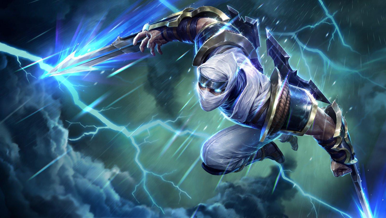 Shockblade Zed Wallpapers Fan Arts League Of Legends Lol Stats