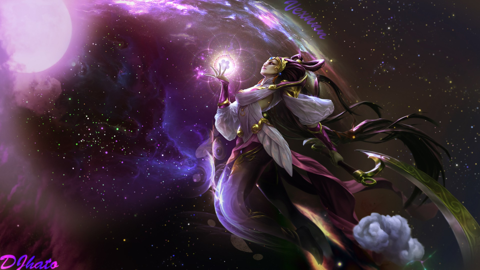 Lunar Goddess Diana Wallpapers Fan Arts League Of