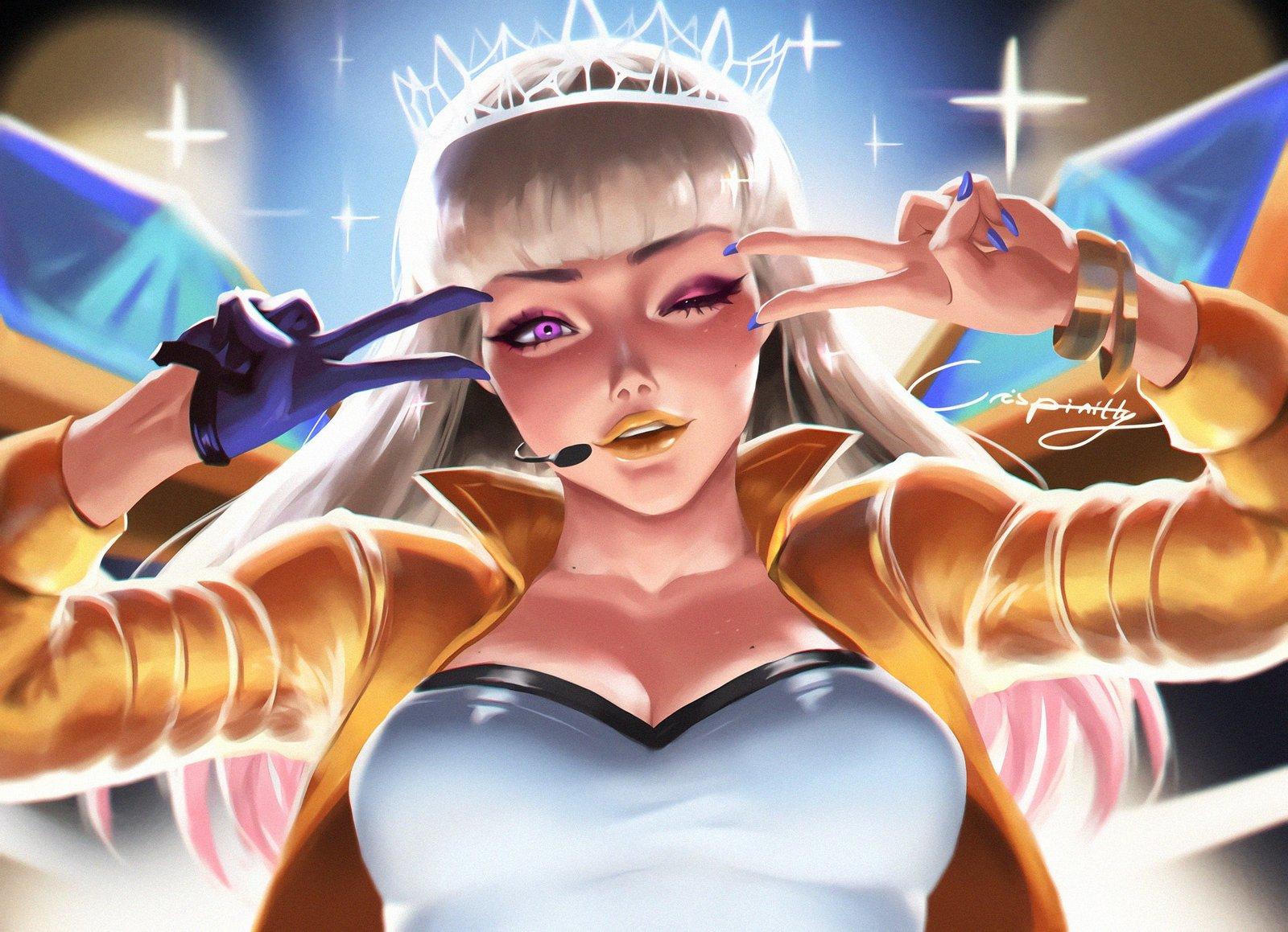 K/DA Kai'Sa Prestige Edition   Wallpapers & Fan Arts   League Of