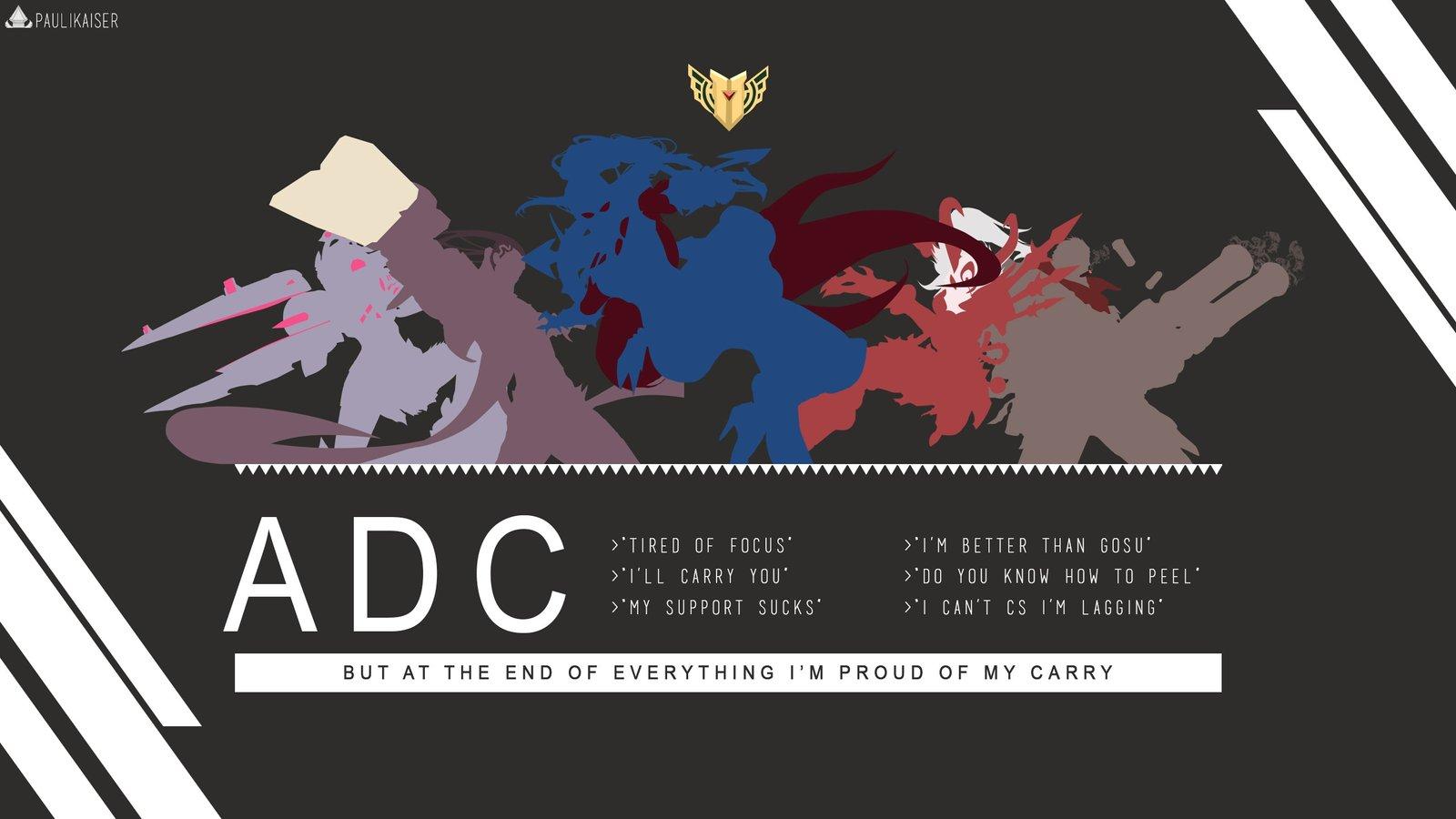 Adc Wallpapers Fan Arts League Of Legends Lol Stats