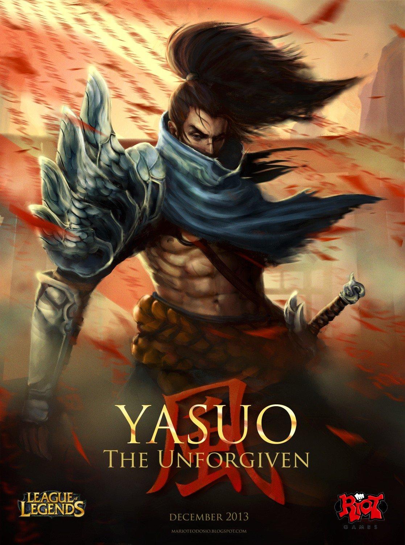 Yasuo Poster Wallpapers Fan Arts League Of Legends
