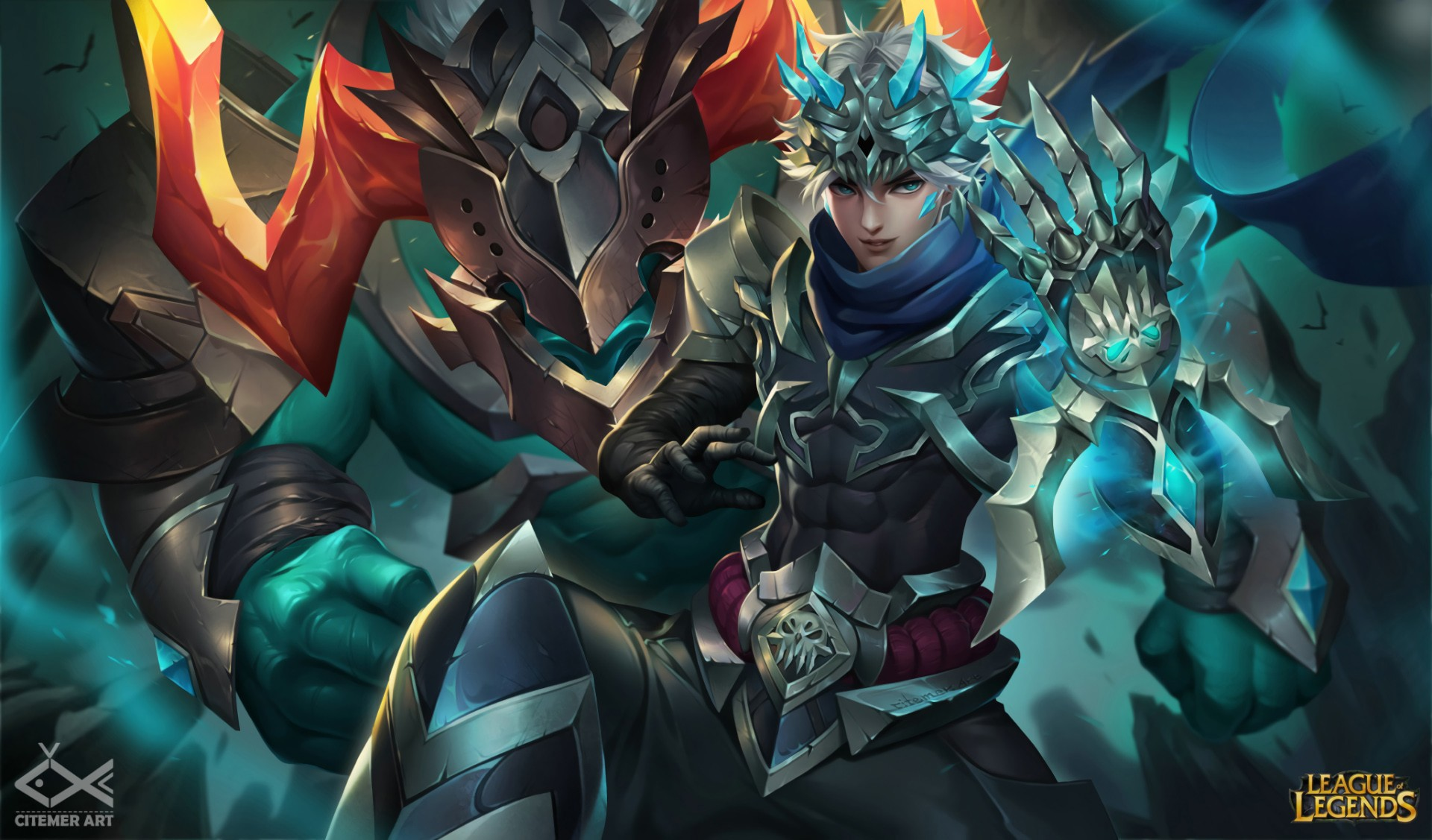 Hell Walker Ezreal Alistar Wallpapers Fan Arts