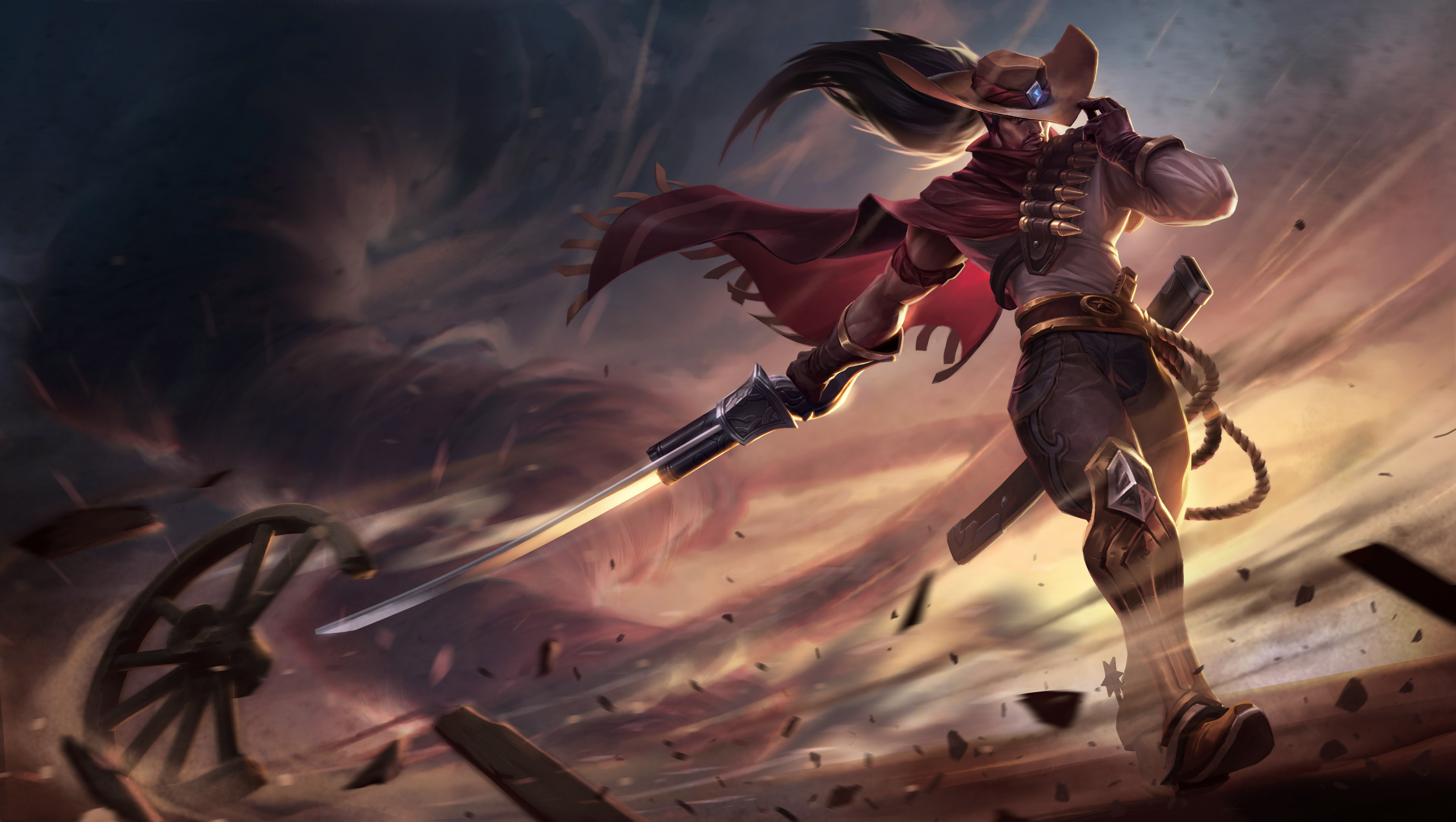High Noon Yasuo Wallpapers Fan Arts League Of Legends Lol Stats