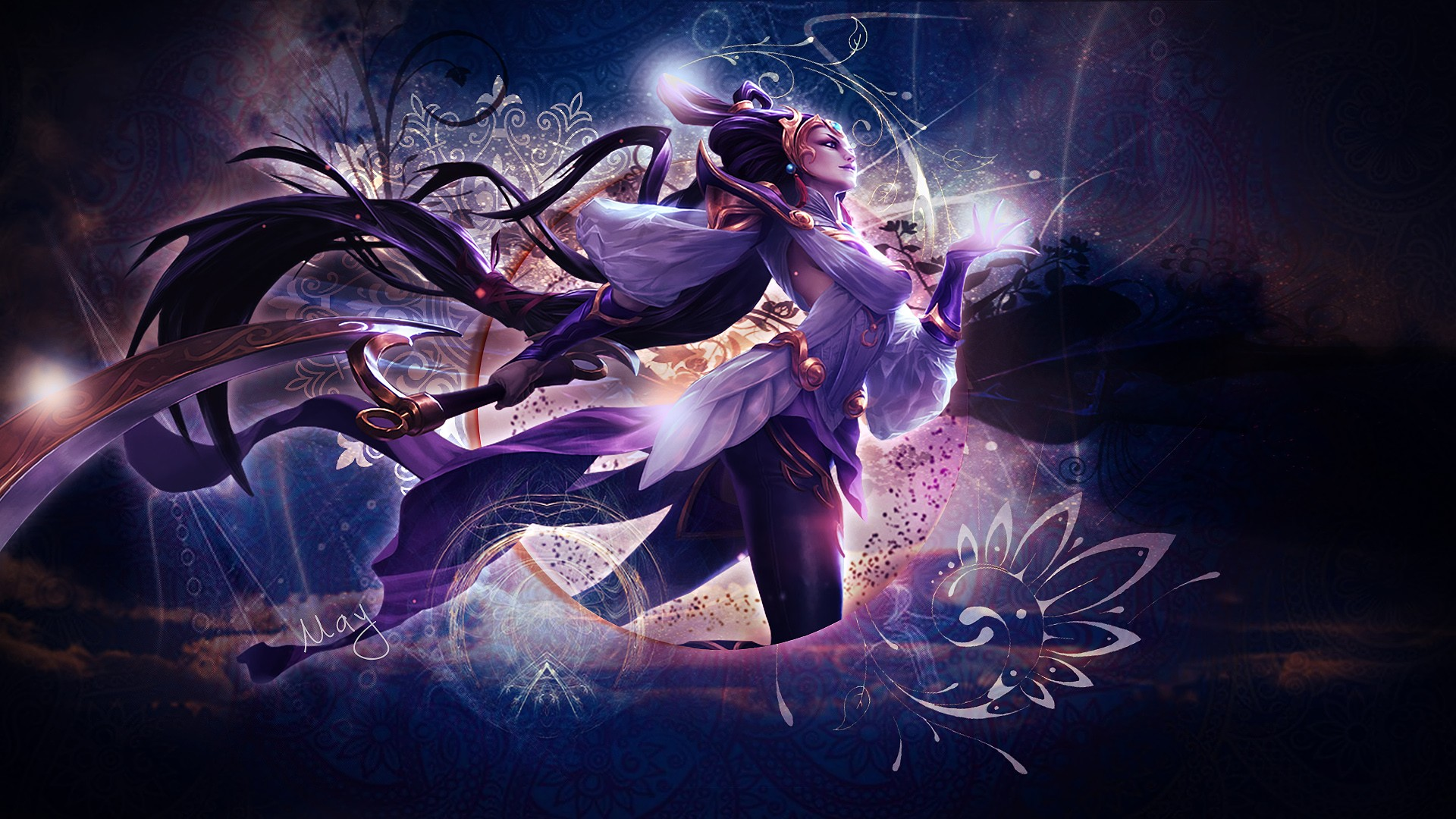 Lunar Goddess Diana Wallpapers Fan Arts League Of