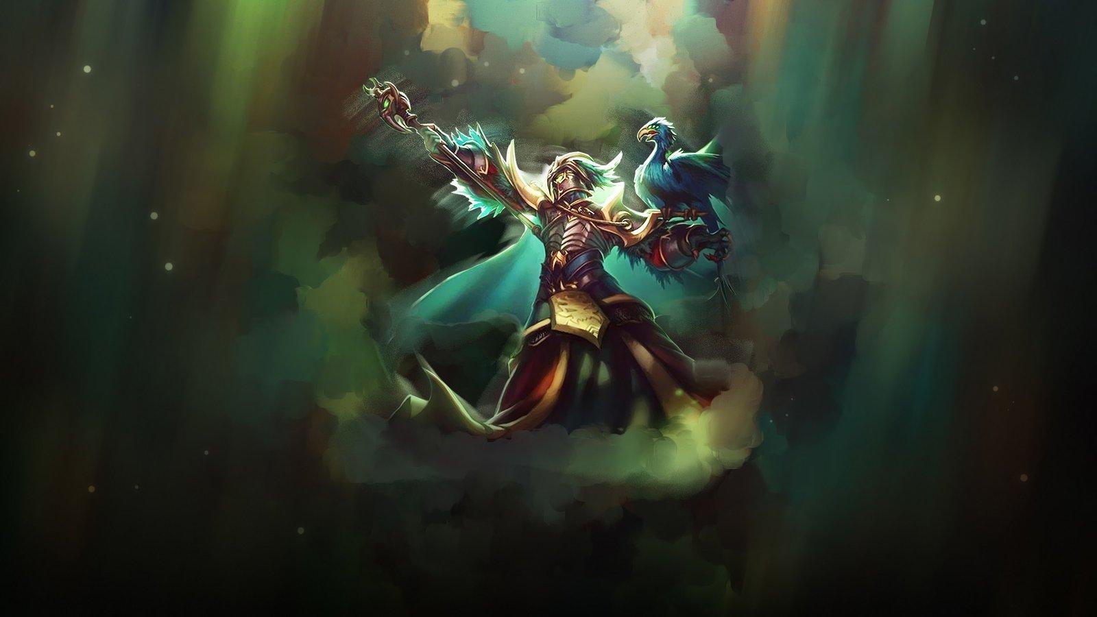 Tyrant Swain Wallpapers Fan Arts League Of Legends
