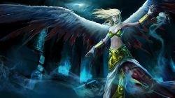 Exiled Morgana Splash Art League of Legends Artwork Wallpaper lol