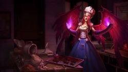 Sinful Succulence Morgana Splash Art League of Legends Artwork Wallpaper lol