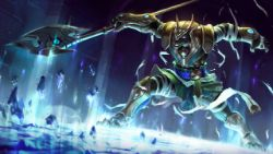 Classic Nasus Splash Art 4k HD Wallpaper Official Artwork League of Legends lol