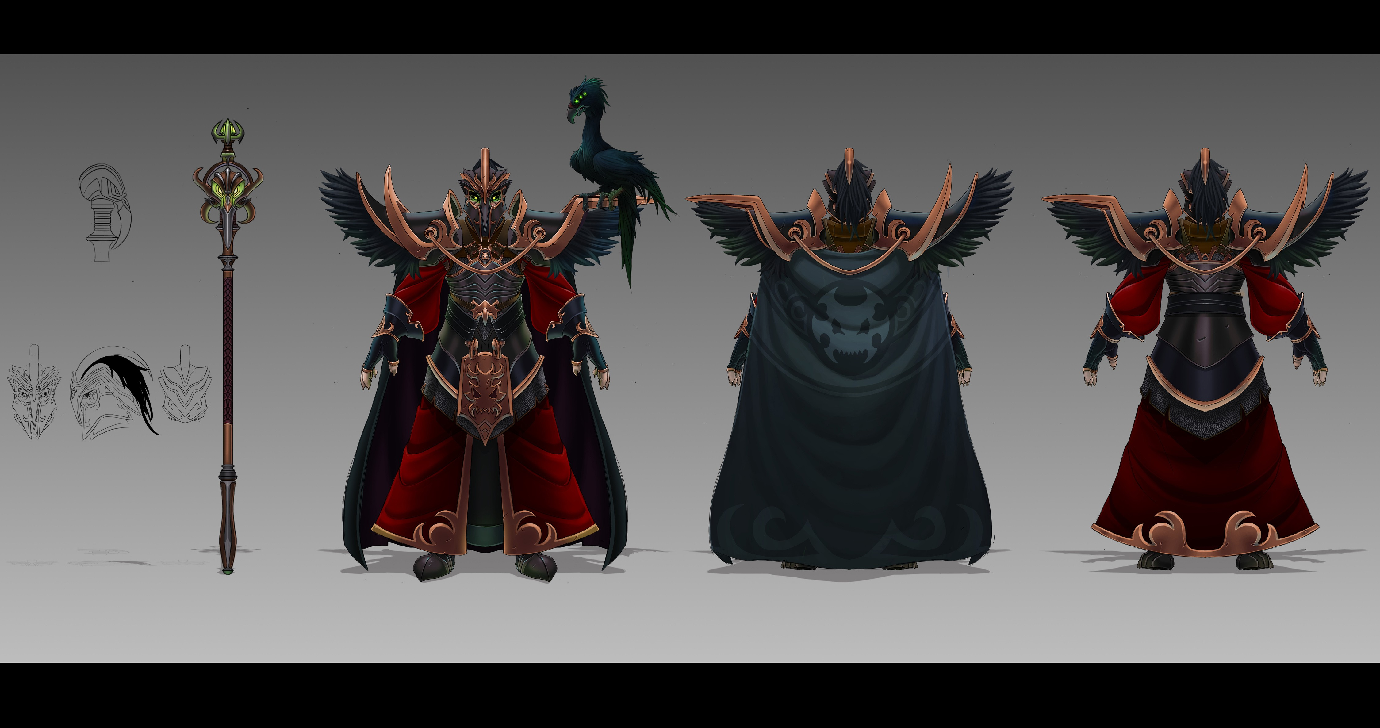 Tyrant Swain Concept Wallpapers Fan Arts League Of