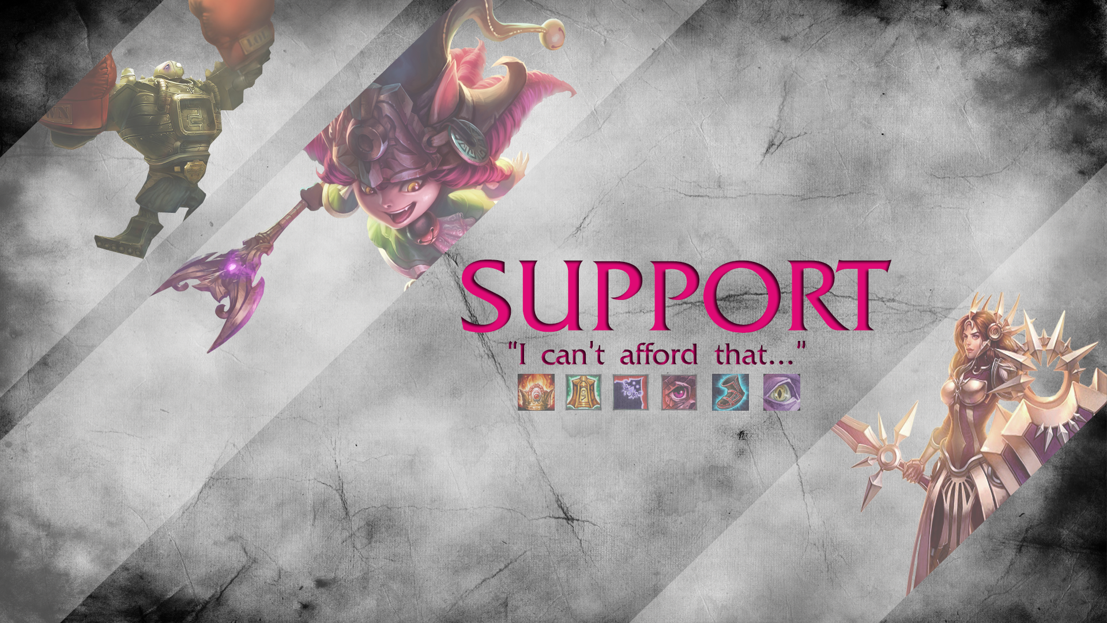 Support Wallpapers Fan Arts League Of Legends Lol Stats