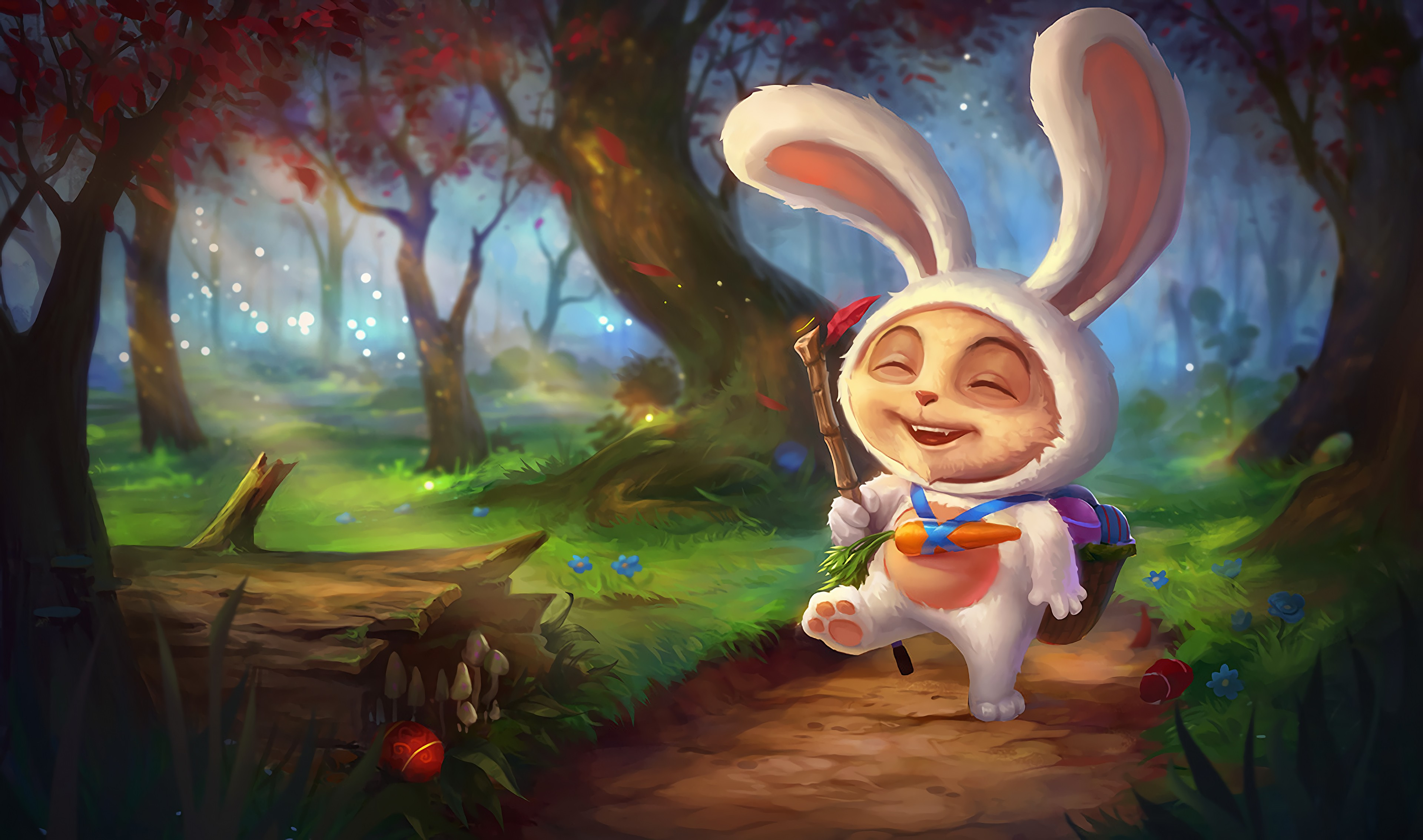 Cottontail Teemo Old Wallpapers Fan Arts League Of Legends