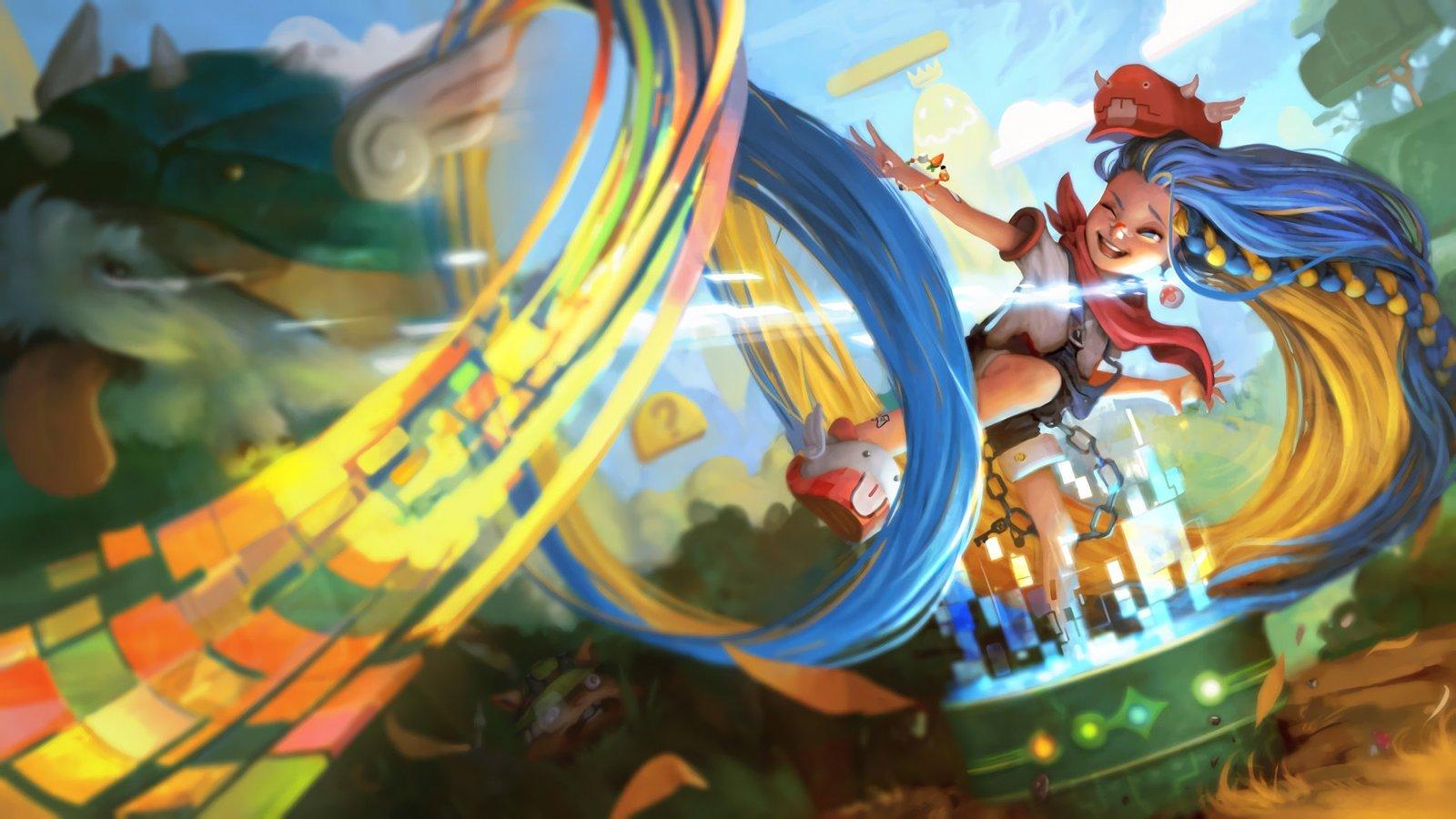 Arcade Zoe Wallpapers Fan Arts League Of Legends Lol Stats