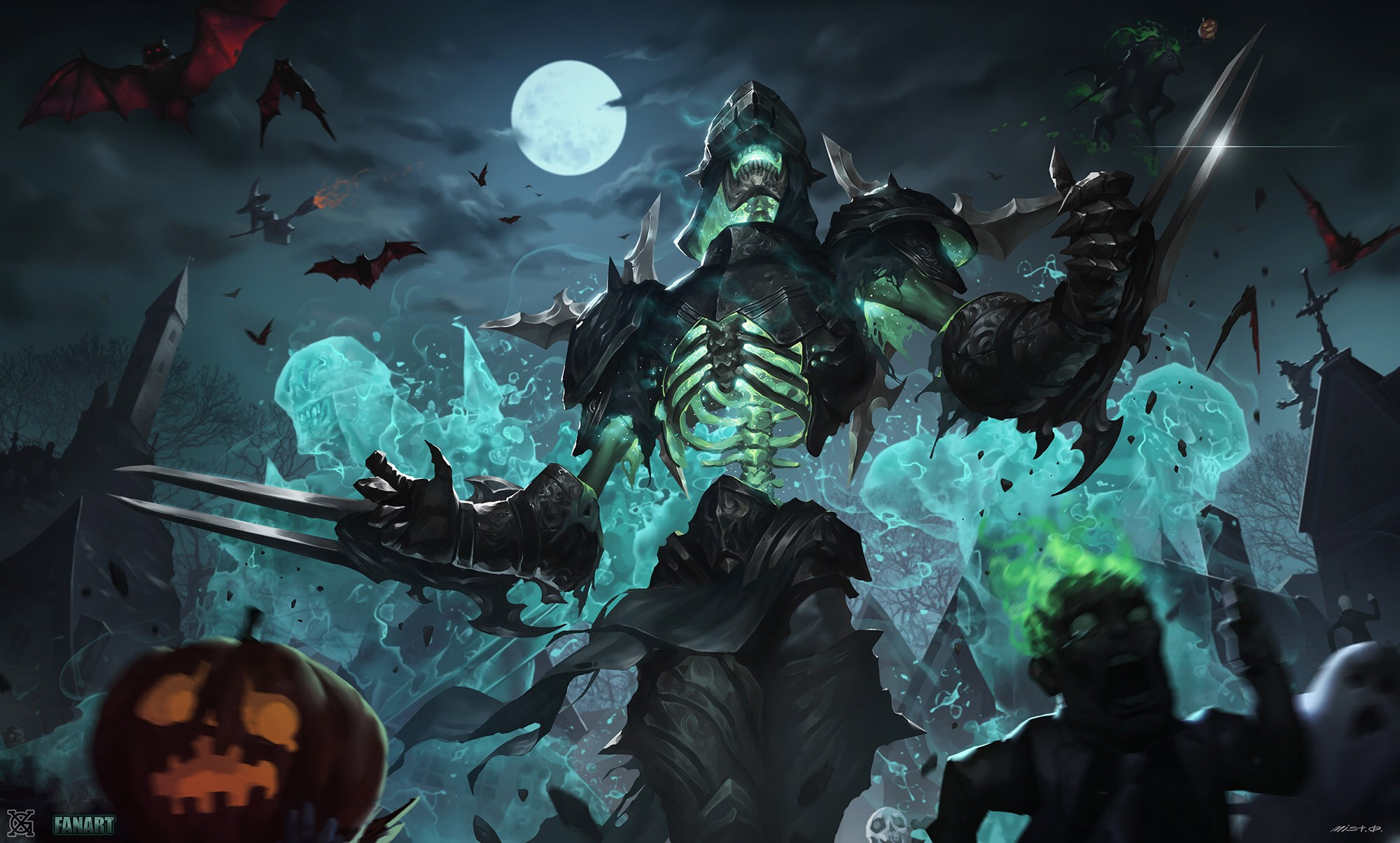 Halloween Undead Zed Wallpapers Fan Arts League Of Legends