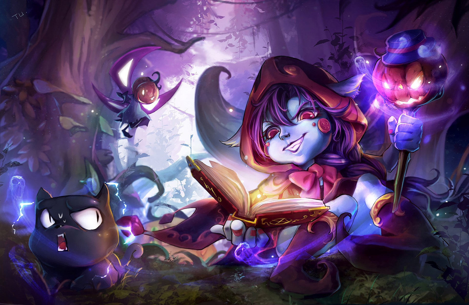 Halloween Lulu Concept Wallpapers Fan Arts League Of