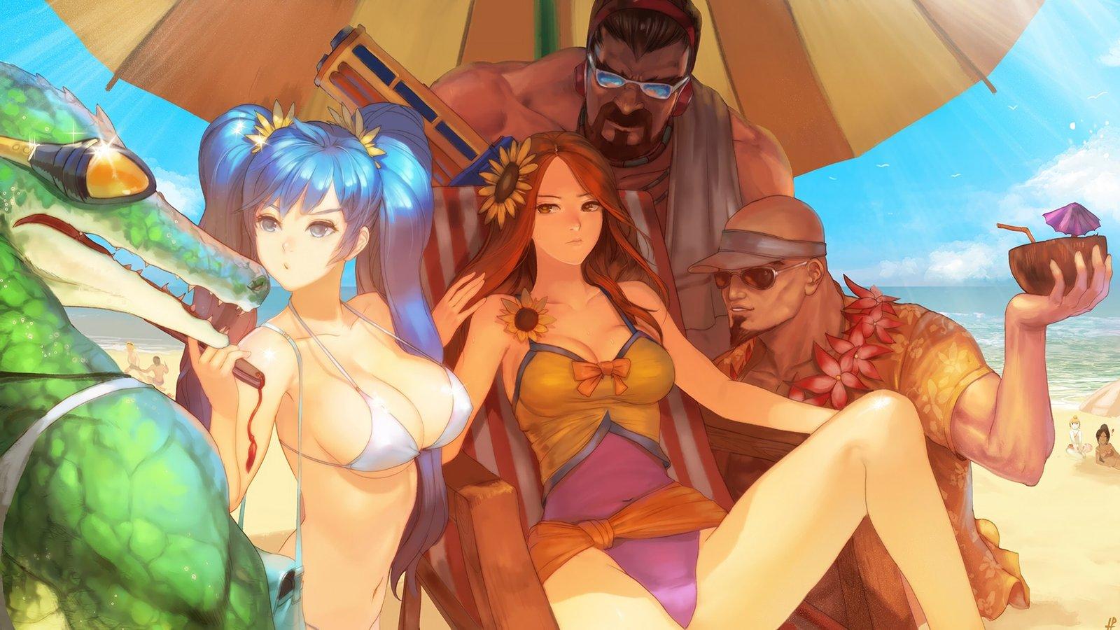 Leona Pool Party