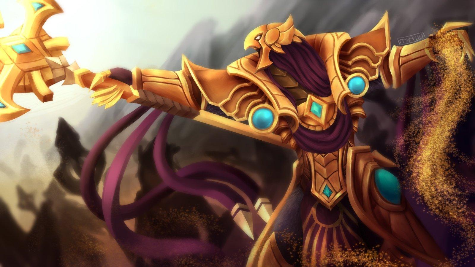 Azir Wallpapers Fan Arts League Of Legends Lol Stats