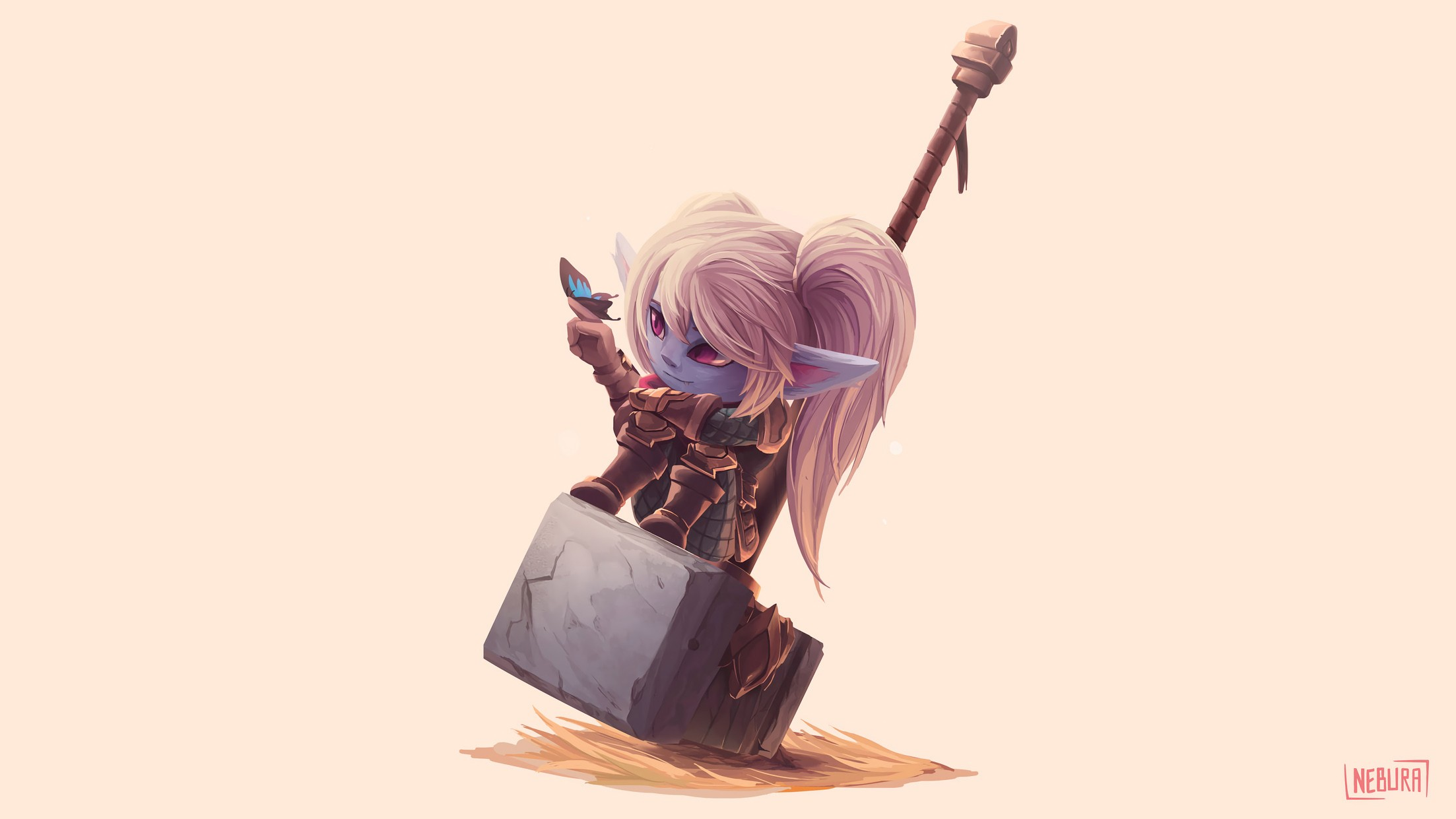 Poppy Wallpapers Fan Arts League Of Legends Lol Stats
