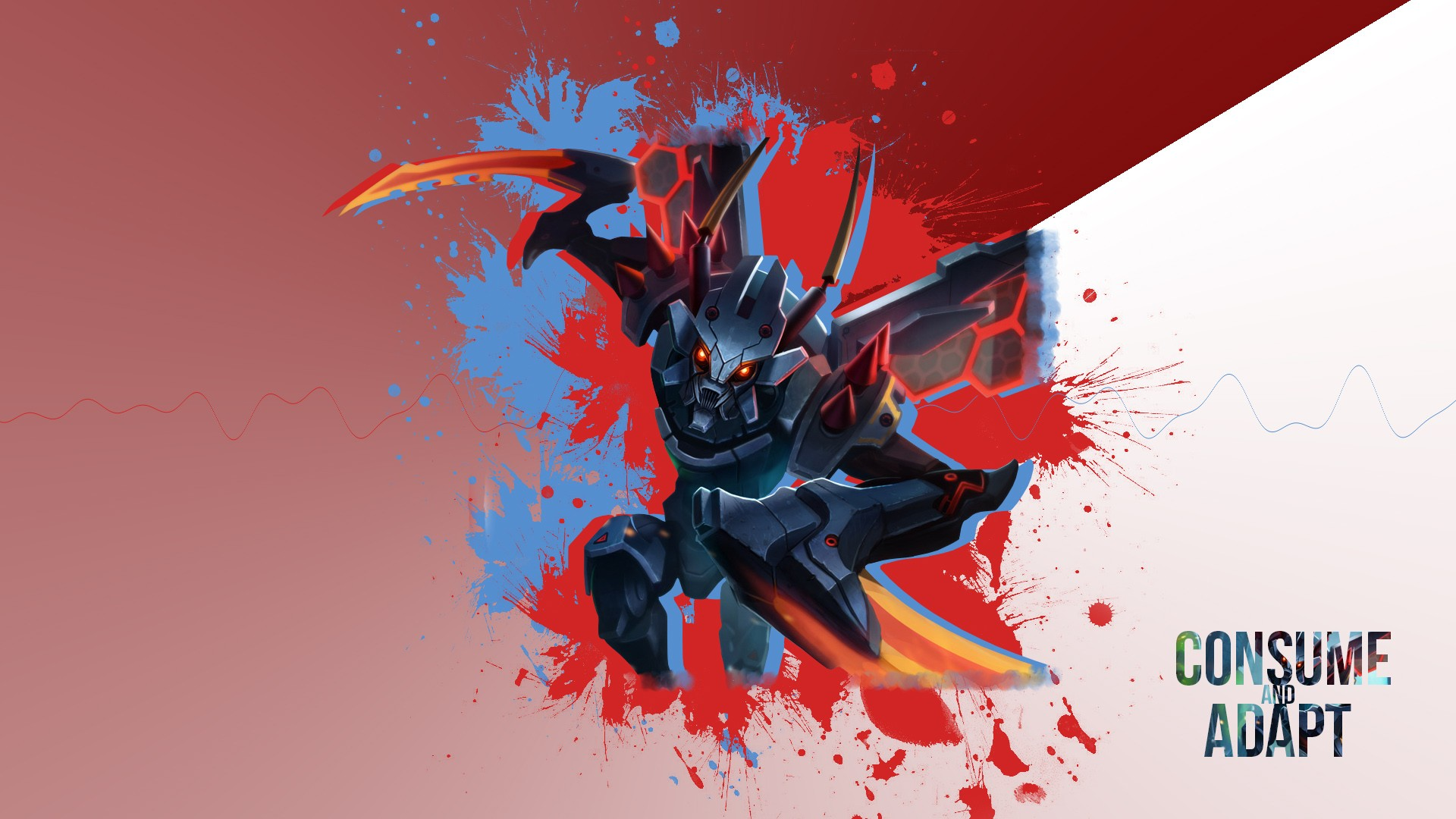 Mecha Kha'Zix by UKISShadyVaati HD Wallpaper Fan Art Artwork League of Legends lol