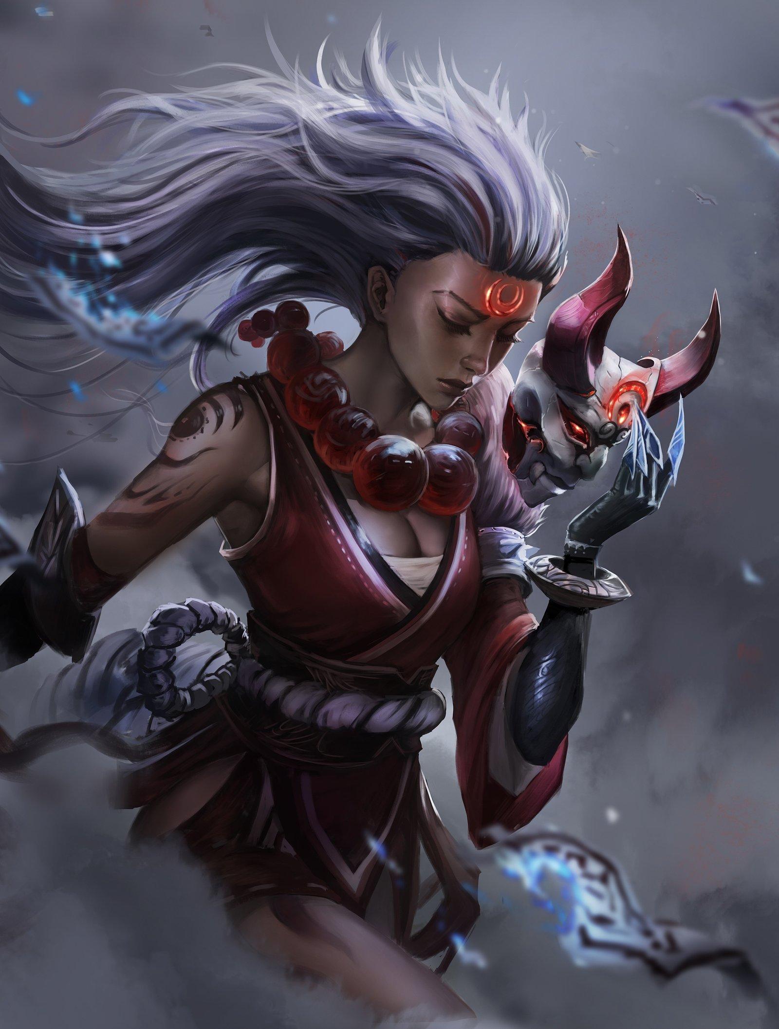 Blood Moon Diana Wallpapers Fan Arts League Of Legends Lol