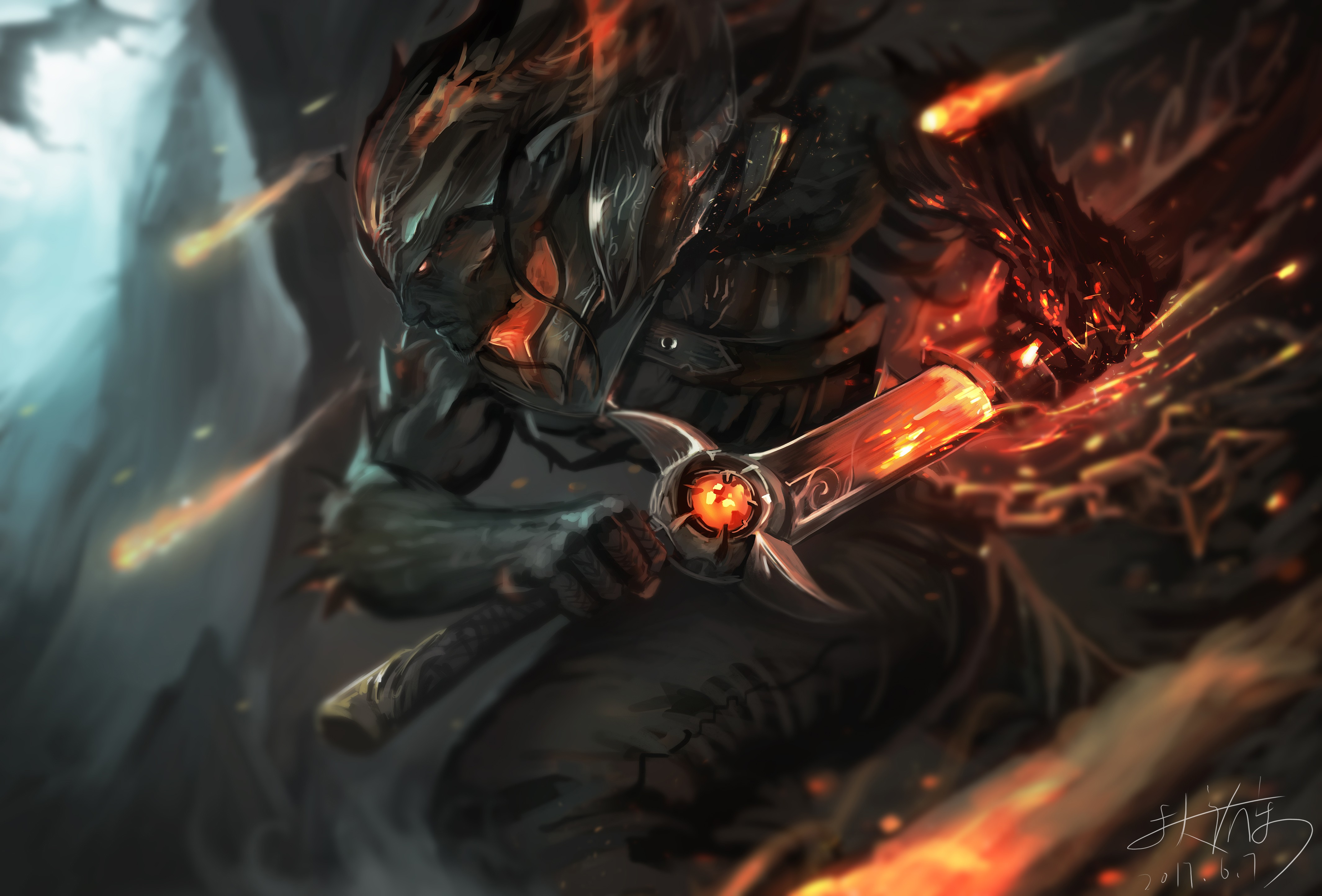 Nightbringer Yasuo | Wallpapers & Fan Arts | League Of Legends | LoL Stats