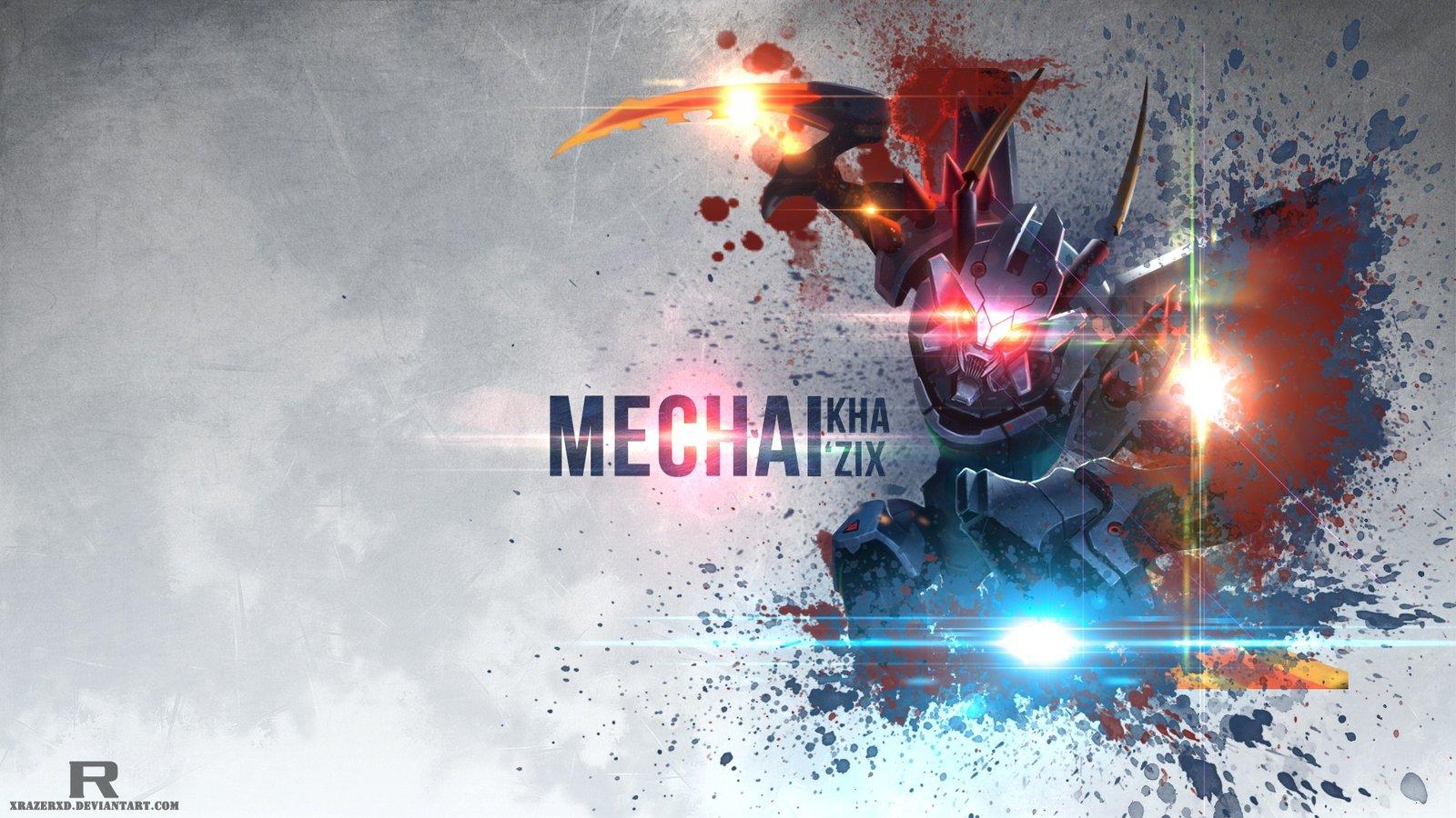 Mecha Kha'Zix by xRazerxD HD Wallpaper Fan Art Artwork League of Legends lol