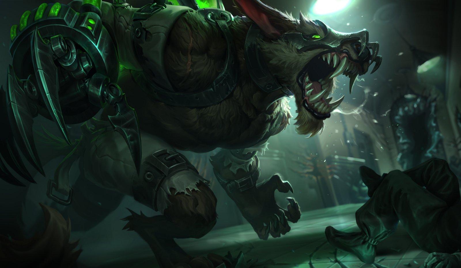 Feral Warwick Update Wallpapers Fan Arts League Of Legends