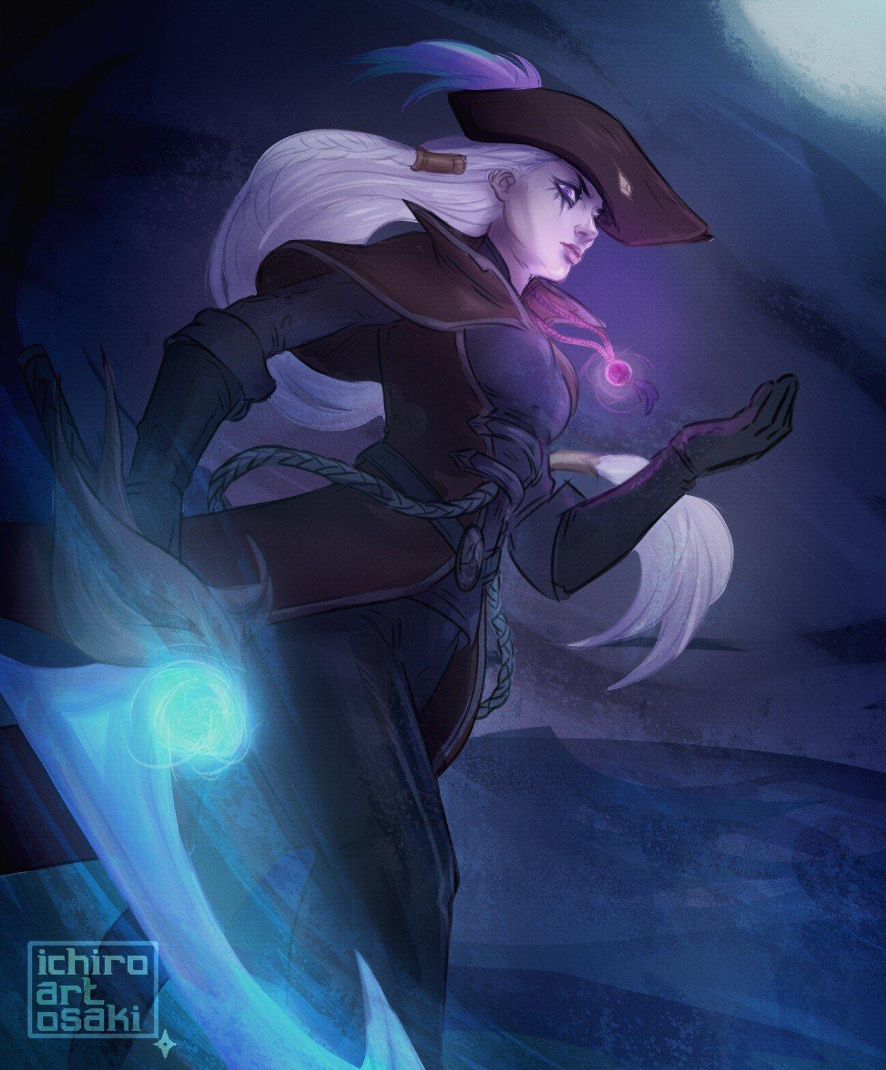 Dark Waters Diana Wallpapers Fan Arts League Of Legends