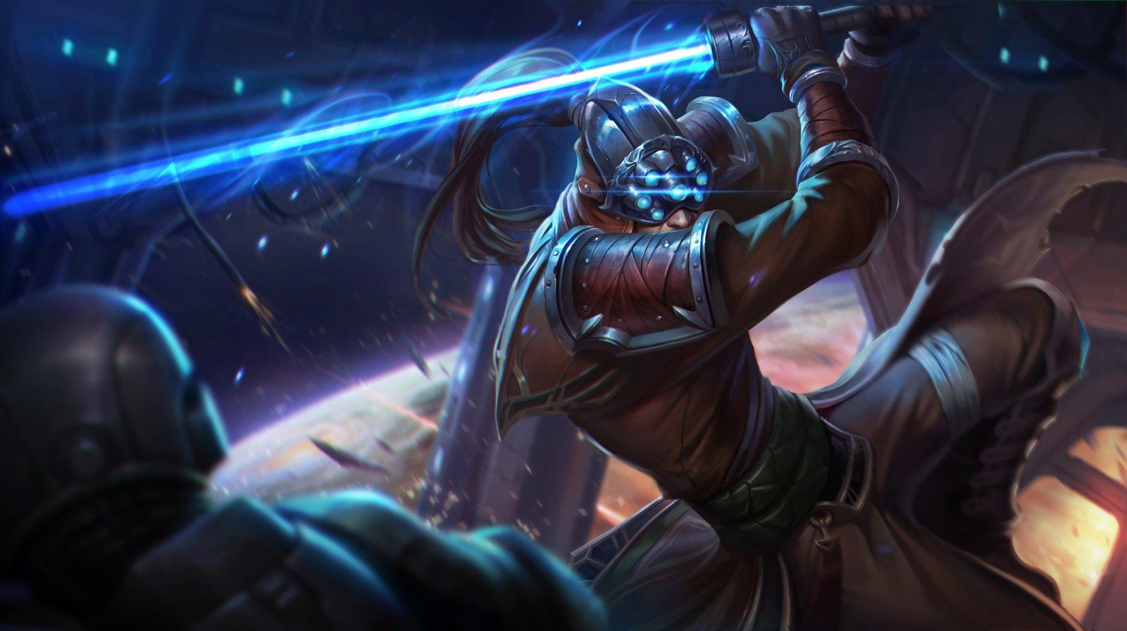 Chosen Master Yi Wallpapers Fan Arts League Of Legends Lol