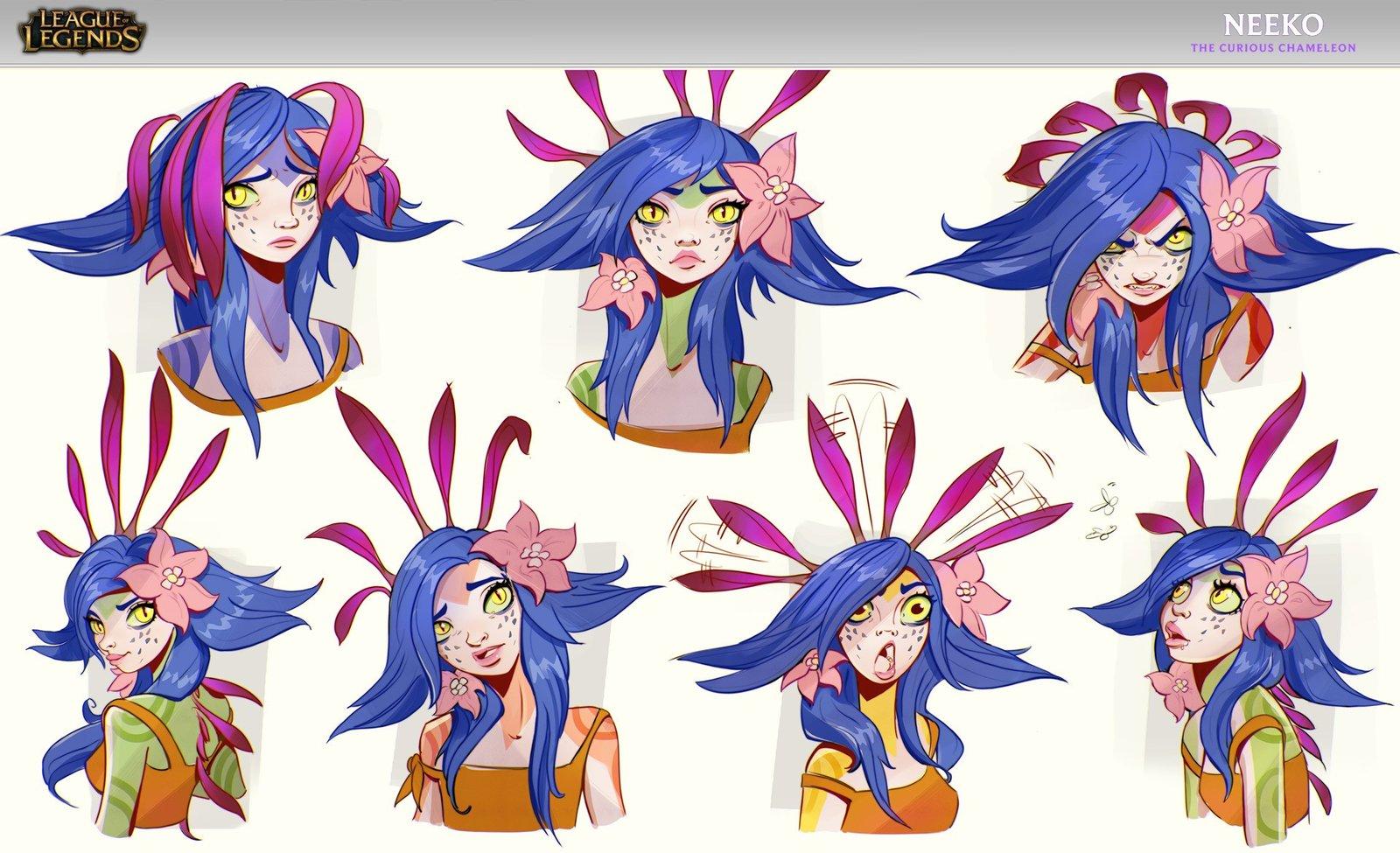 Neeko Concept Wallpapers Fan Arts League Of Legends Lol Stats