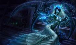 Ghost Bride Morgana Splash Art 4k HD Wallpaper Official Artwork League of Legends lol